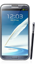 Samsung Galaxy Note 2 titangrau