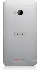 HTC One silber