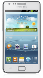 Samsung Galaxy S2 Plus weiss