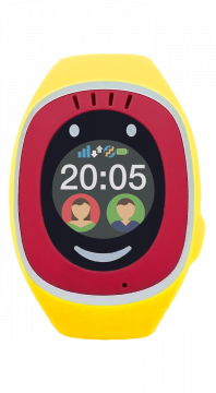 Smart Kids Watch MyKi Touch Gelb