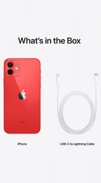 Apple iPhone 12 (PRODUCT) RED 256 GB
