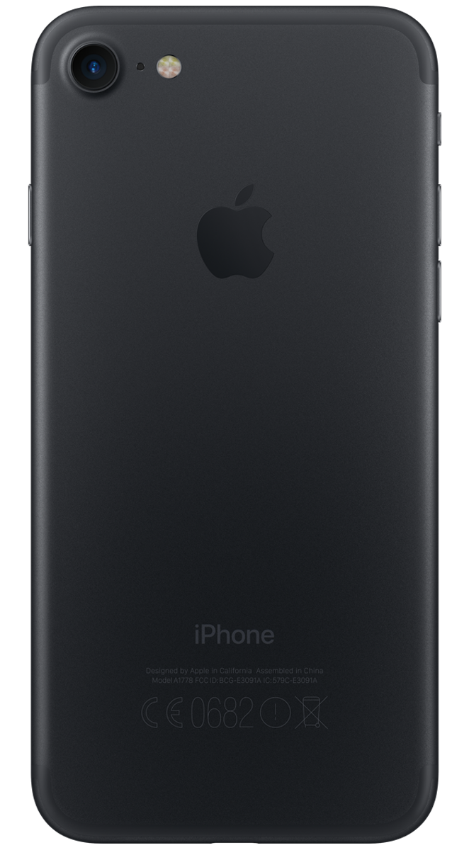 Apple iPhone 7 schwarz 32 GB