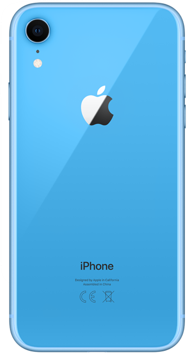 Apple iPhone XR blau 128 GB