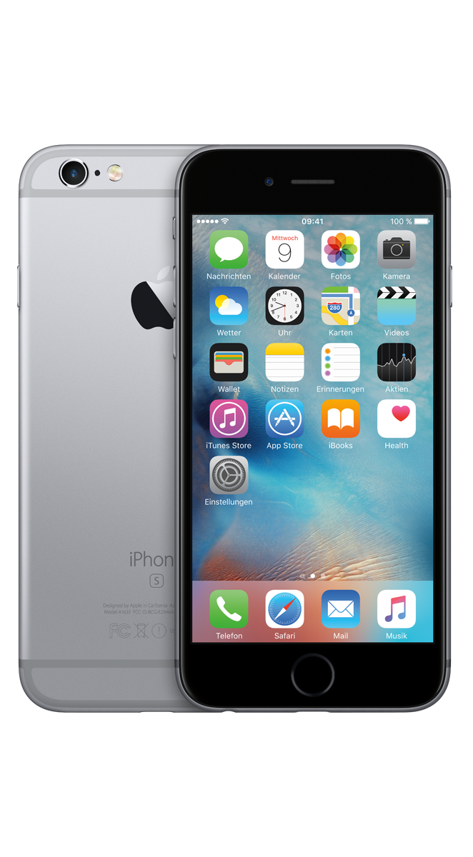 Apple iPhone 6s space grau 32 GB