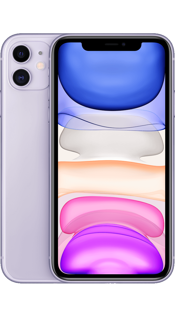 Apple iPhone 11 violett 64 GB