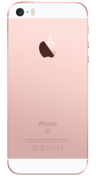 Apple iPhone SE 16GB rosegold bei tele.ring
